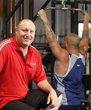 KEEPING UP:  Gavin Marshall, owner of Jenkins Gym in Lower Hutt, has changed the gym's offerings to meet evolving fitness trends.