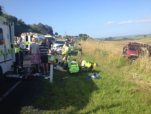 Raglan crash