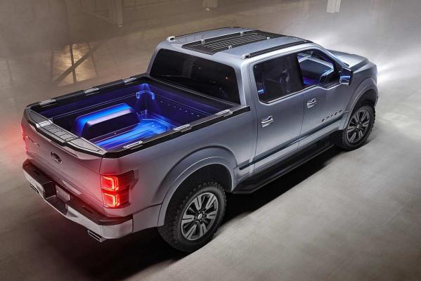 Ford's Atlas Concept unveiled at the Detroit motor show.