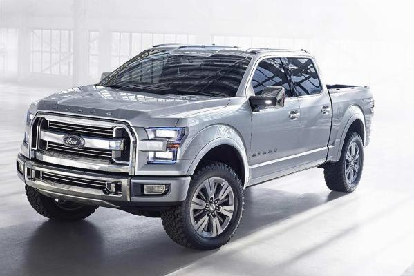 Ford's Atlas Concept unveiled