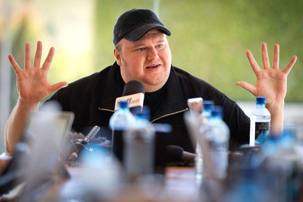 Kim Dotcom Mega.co.nz launch