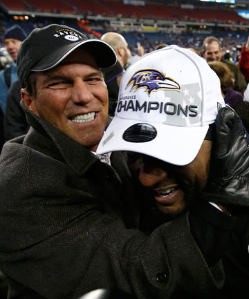 Steve Bisciotti and Ray Lewis