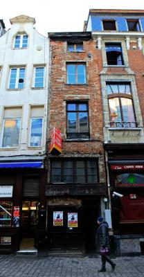 Brussels' smallest house