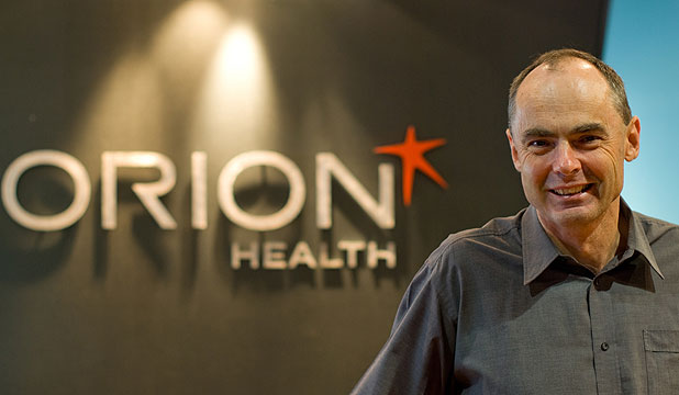 TREND TOWARDS ELECTRONIC RECORD: Orion health chief executive Ian McCrae.