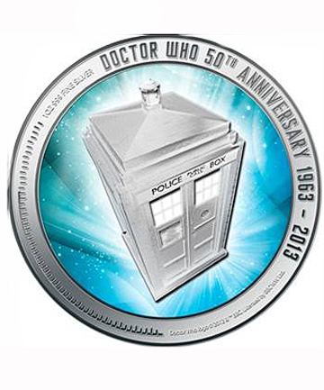 Dr Who coin
