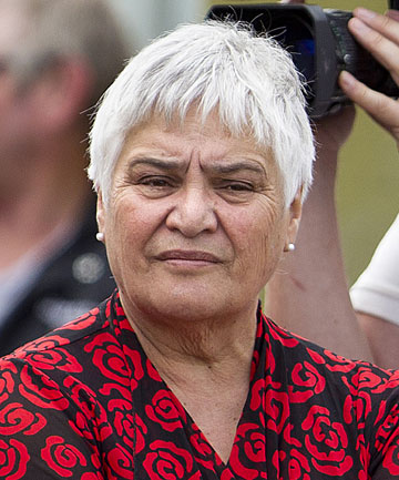OTHER PARTIES 'STANDING IN LINE': Maori Party co-leader Tariana Turia at Ratana.