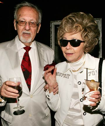 Burt and Linda Pugach attend the premiere after party f