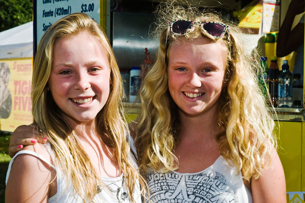 Tessa McKellar and Sophie Withers