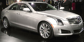 Cadillac ATS: North American Car of the Year.