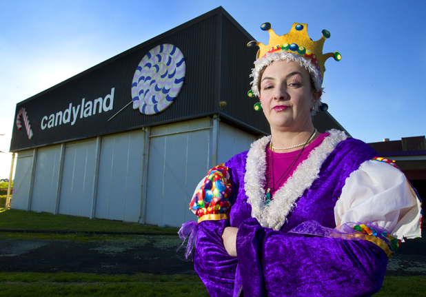 CONSIDERING MOVE: Candyland Queen, owner and director Michele Coker wants to move her confectionery operation offshore after a bitte