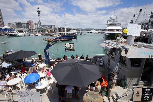 Auckland Sea Food Festival 2013
