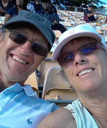 'TWO WONDERFUL PEOPLE': Dr Brian and Grace Johnston, two of three people from a Bethlehem College group killed in a minivan crash in Kenya.