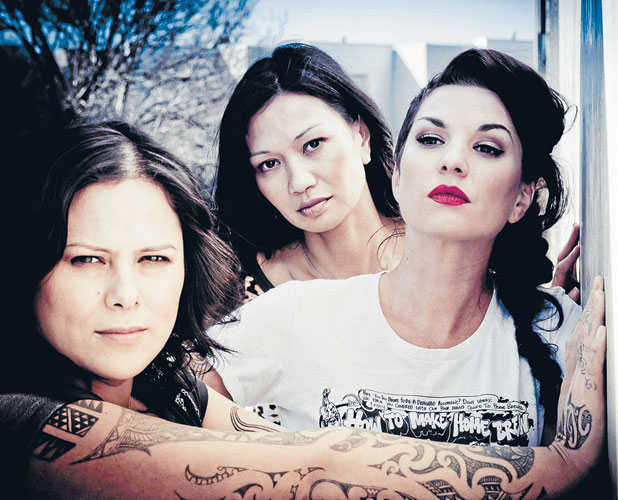Anika Moa, Boh Runga and Hollie Smith.