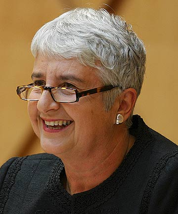 New Zealand's Chief Justice Sian Elias.