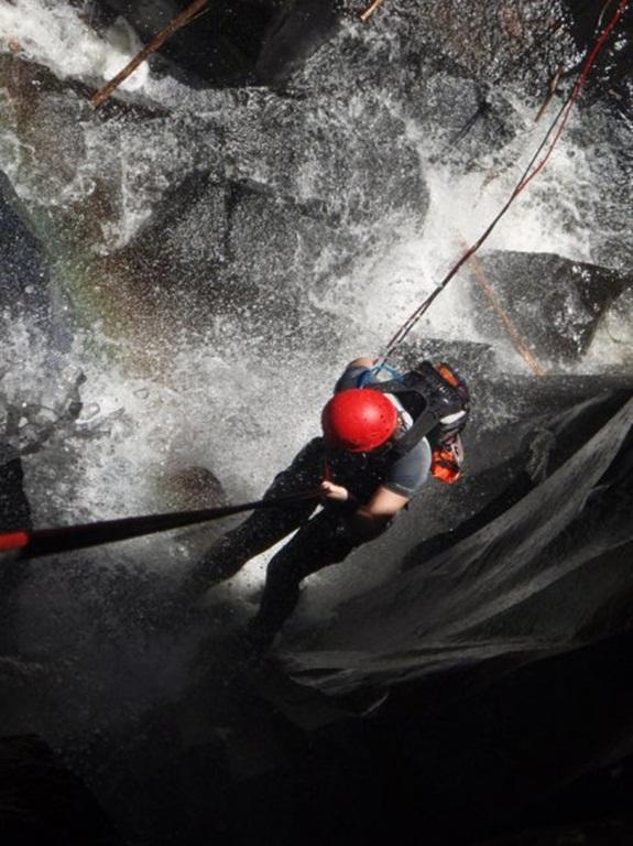Canyoning in Canungra