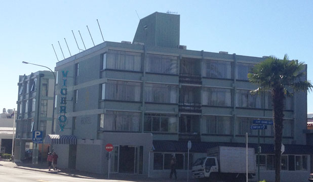 The owner of the building housing Napier's newest five-star hotel, The Viceroy, has been put into liquidation by a contractor after a refurbishment project. The hotel is unaffected.