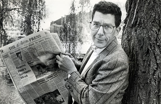 Paul Holmes reads The Press