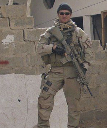 A file photo of Former Navy Seal Chris Kyle, a sniper who was responsible for 160 kills during his career.
