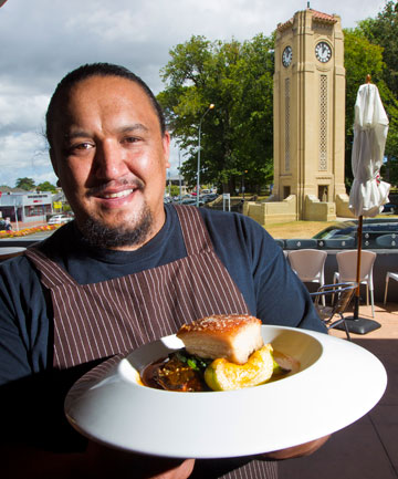 Cameron Petley from The Nash Restaurant and Bar in Cambridge.