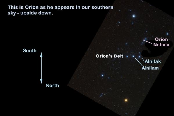 Orion south
