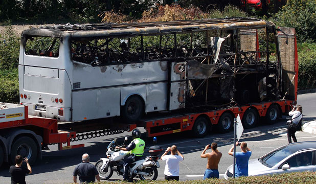 Bulgaria bus bombing