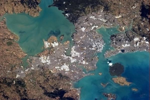 Auckland from the ISS