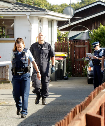 A woman faces murder charges after a death in this Edgeware Rd, Christchurch, house.