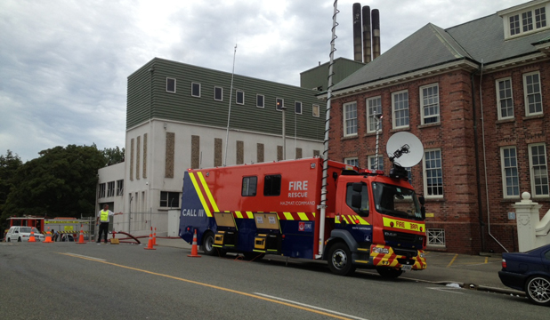 timaru hospital boiler room fire