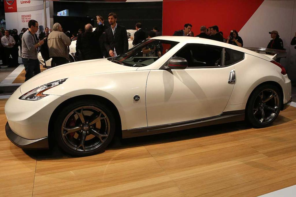 The Nissan 370Z Nismo at the Chicago Auto Show.