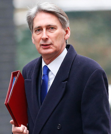 Britain's Defence Secretary Philip Hammond