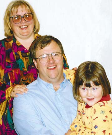 Mark Lundy family portrait