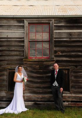 Mike and Julie were married at Sileni Estate.