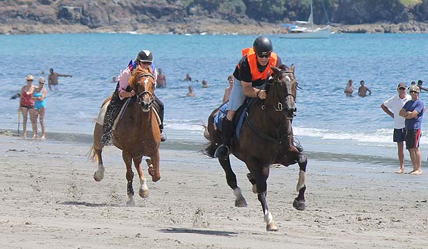 Onetangi Beach Races