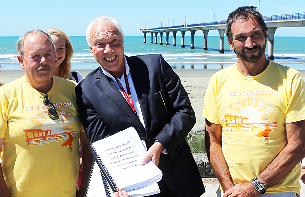 New Brighton water park petition