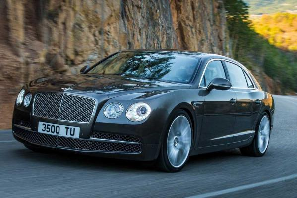 The new Bentley Flying Spur.