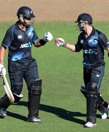 Ross Taylor and Brendon M