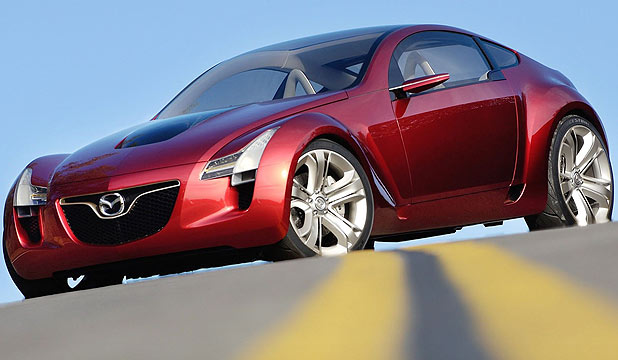 Mazda's fourth-generation RX-7 could look like this.