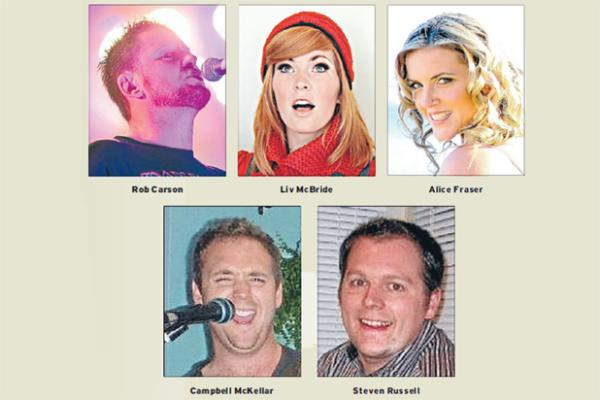 Westpac Southland Entertainment Awards 2013 nominees
