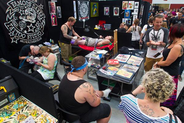 Tattoo Expo at Claudelands
