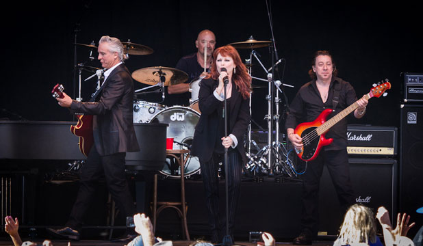 Pat Benatar and band
