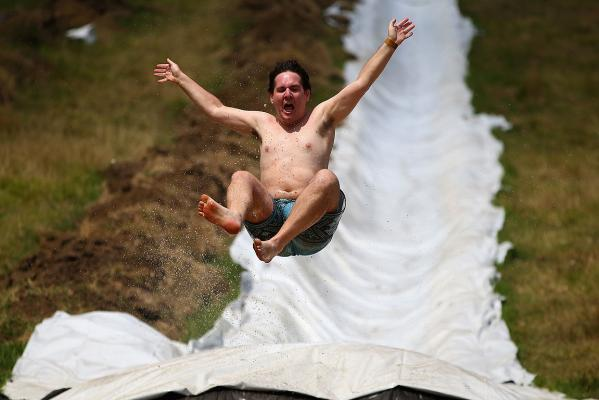 Auckland Waterslide