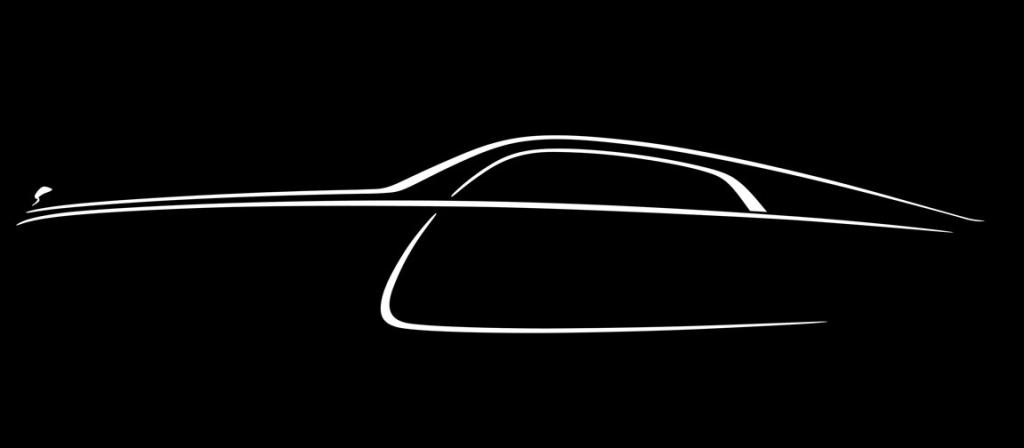 Rolls-Royce's final teaser image of its latest model, the Wraith.