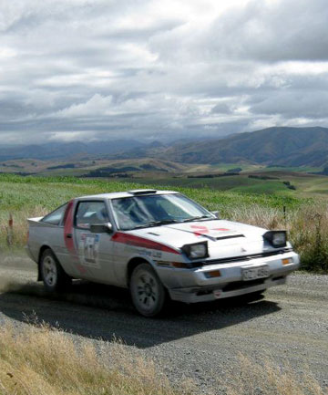 Shingle sprintsRallying returns: Malcolm Lovett will  be tackling the Mackenzie's  'Hillblock' in his Mitsubishi Starion.