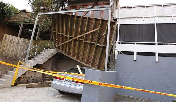 Sydney balcony collapse
