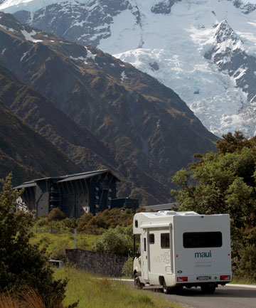 Campervan hires are down as fewer foreign tourists take the chance to drive New Zealand.