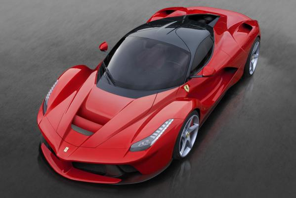 Ferrari's LaFerrari unveiled at