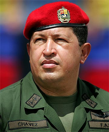 HUGO CHAVEZ: The Venezuelan president died after a long battlle with cancer.