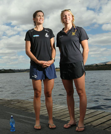Fiona Bourke and Zoe Stevenson