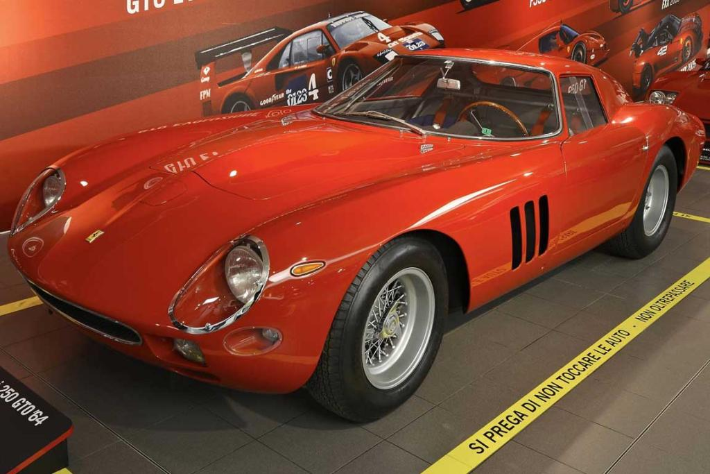 Ferrari Supercar - technology, design, myth exhibition opens in Maranell