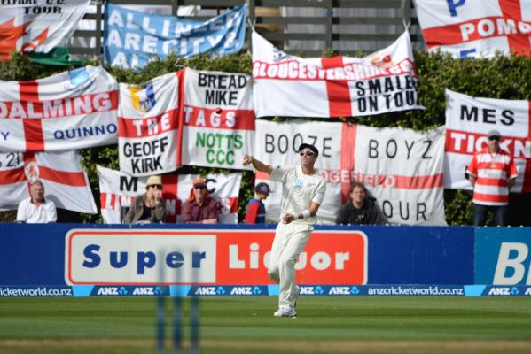 NZ v England: second test